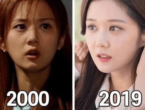 20년 동안 외모변화 1도 없는 여배우들