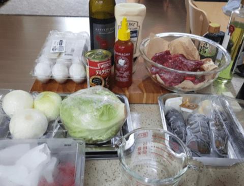 요리가 취미인 남자의 햄버거 만드는 수준