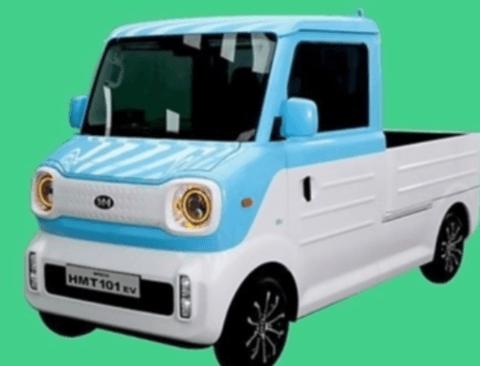 국내 최신 초소형 화물 전기차