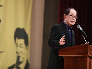 권영길 '여영국의 만인보' 출판기념회 축사