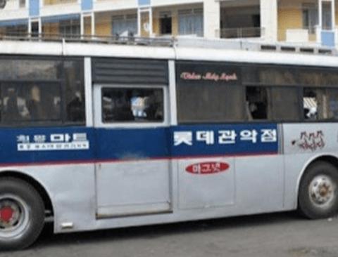 세계 방방곡곡을 누비는 한국 버스들