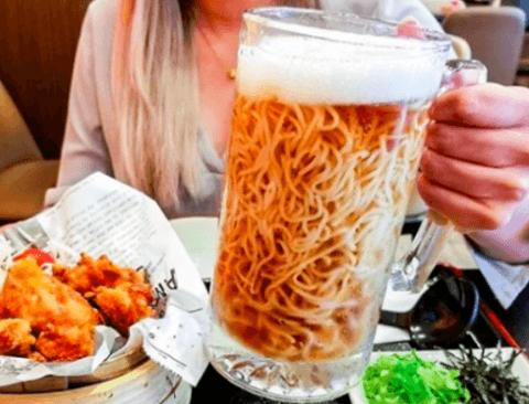 일본에서 핫한 맥주라면.jpg