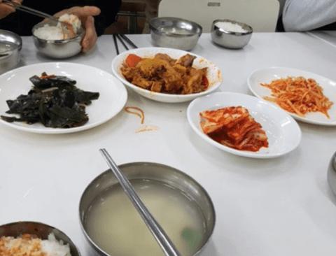어느 개드리퍼의 회사 점심(빡침주의)