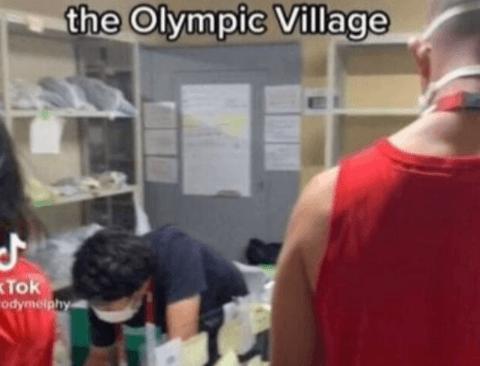 도쿄 올림픽 올림픽 선수촌 세탁 서비스 수준