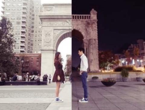 뉴욕에 사는 여자 서울에 사는 남자