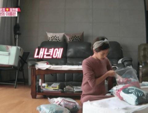 [스압] 둘째에게 물려줄 옷 정리하는 이윤지