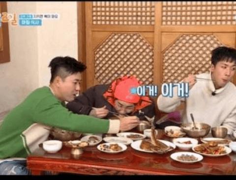 김종민 말은 믿지 못하는 라비(feat.1박2일)