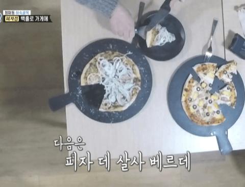 역대급 훈훈함을 불러일으킨 골목식당 피자집