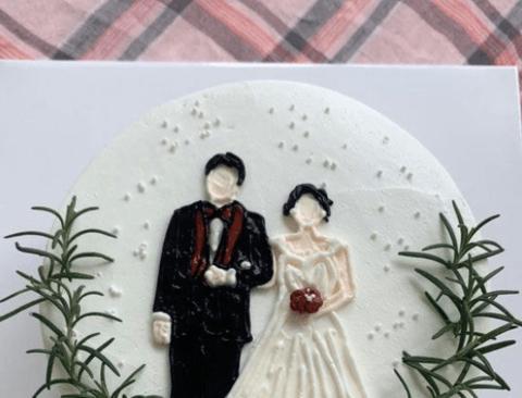 부모님께 결혼 30주년 기념 케이크를 선물 드렸더니....jpg
