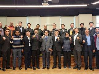 창원산업진흥원, 17개국 방산 수출 동반자들과 간담회