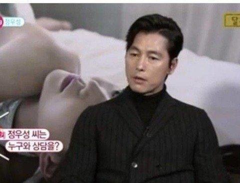 노출씬 찍기 전에 아빠에게 상담받는 배우.jpg