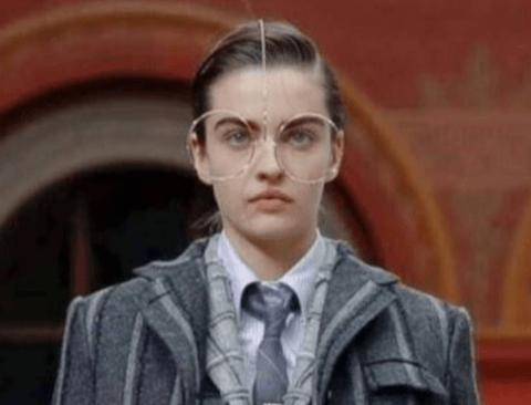 톰 브라운 새로운 안경 디자인