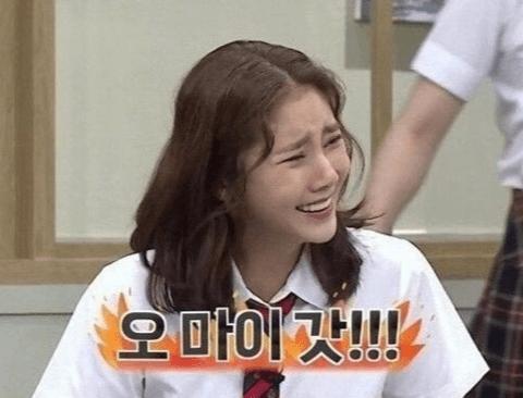 (스압)여장한 김희철을 본 손담비의 반응