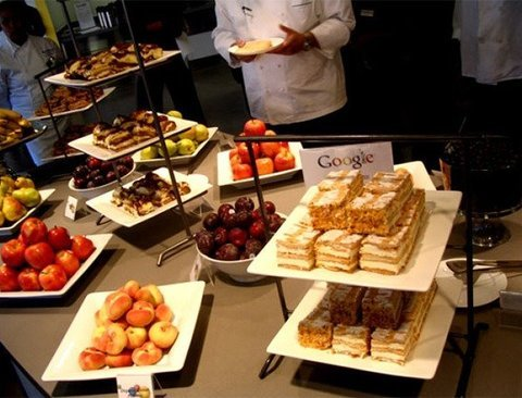 구글,애플,페이스북 등 글로벌 IT기업의 구내식당 Best 7