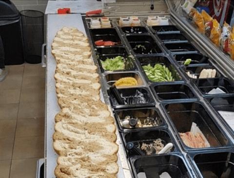 14만원짜리 서브웨이 샌드위치