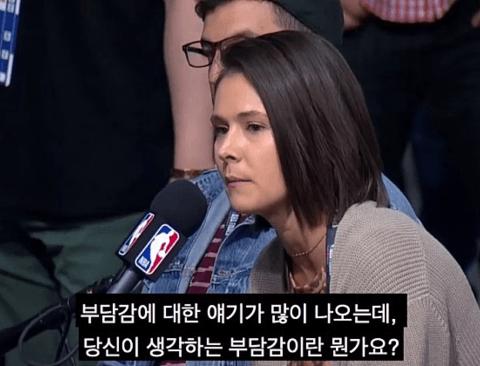 천조국 클라쓰를 보여주는 역대급 인터뷰