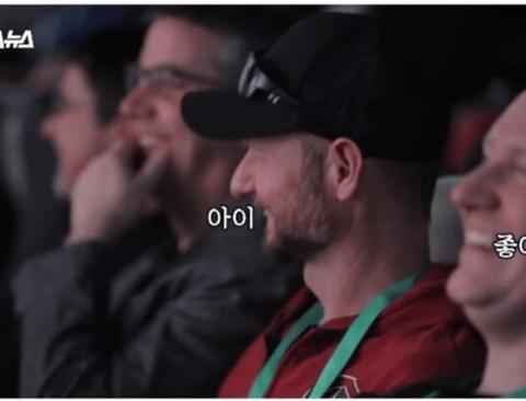 한국 4DX 영화관을 체험한 미국인들 반응