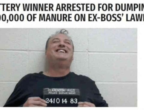체포되어도 행복한 남자