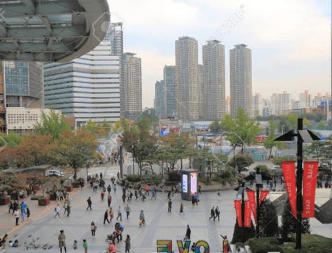 거진 10년전 2010년의 서울의 하늘
