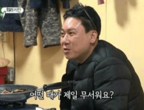 김보성을 공포에 떨게 만드는 아내의 질문