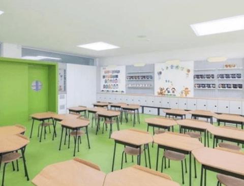 최근 리모델링 된 초등학교 교실 근황