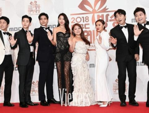 2018 MBC연예대상에서 한혜진