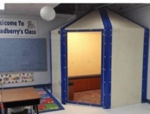미국 초등학교 교실에 또 하나의 방이 만들어진 이유