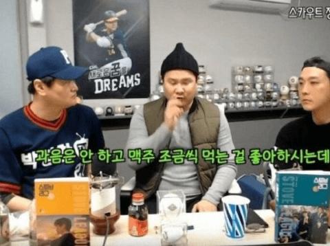 야구계 미담제조기 한화이글스 정민철 단장