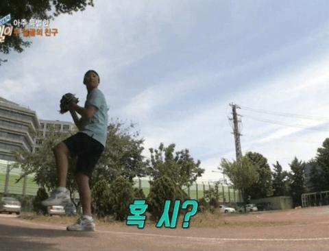 야구선수가 꿈인 소녀(feat.류현진)