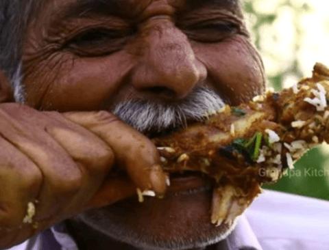 [스압] 인도의 73세 할아버지 유튜버