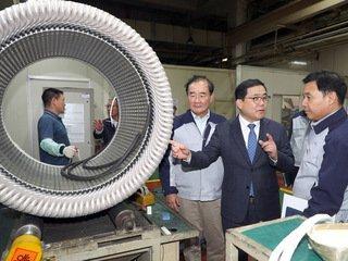 '1963 금성사'→하이젠모터, 모터제작에서 로봇개발까지