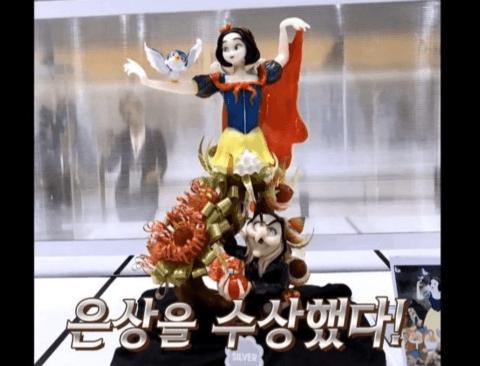[스압] 설탕으로 만든 애니메이션 캐릭터.jpg