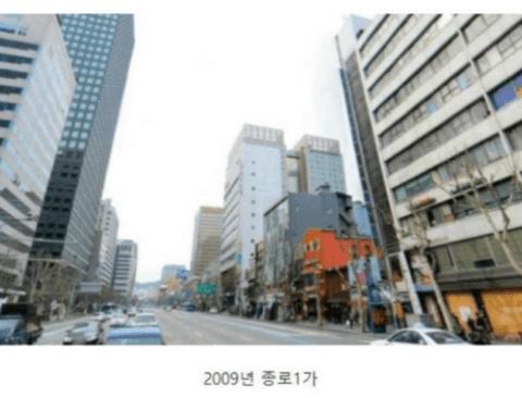 11년의 세월이 바꿔놓은 서울