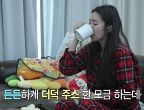(스압)허당미 넘치는 손담비(feat.나혼자산다)