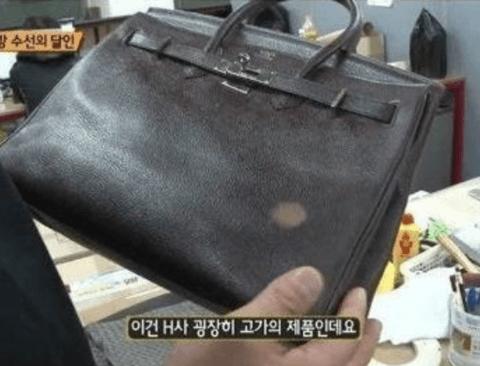 [스압] 상상초월 디테일한 가방 수선의 달인