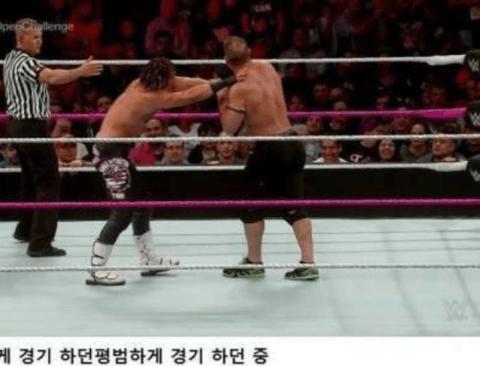 WWE 역대급 팬서비스 보여주는 존 시나 인성