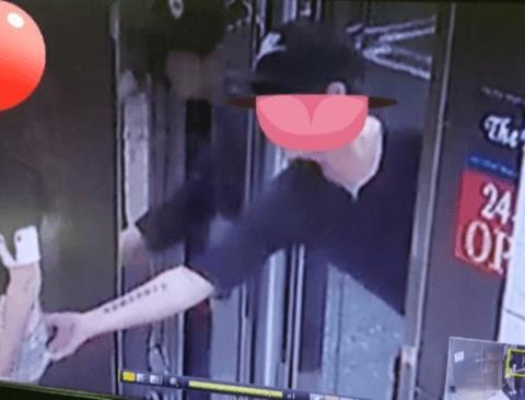 부산 엉만튀 사건 CCTV 공개.jpg