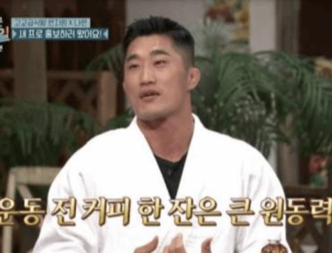 김동현이 말하는 케이크가 살 안찌는 이유
