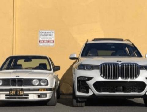 그릴 진화의 끝판왕 BMW