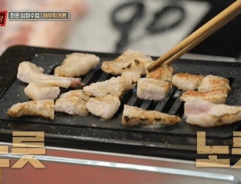 [스압] 돼지고기 직접 발골하면서 부위 설명해주는 백종원