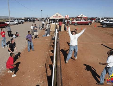 세계 각국의 이색적인 국경선들