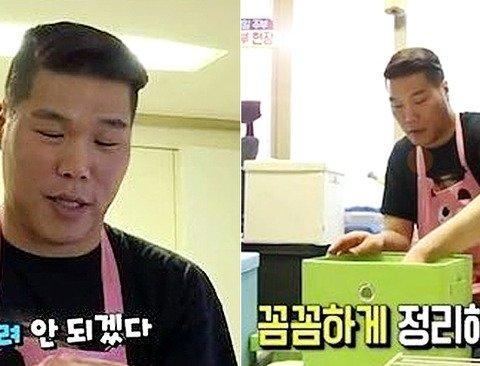 '정리 천재, 청소 미남' 서장훈의 재능기부.jpg