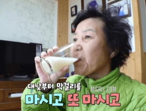 [스압] 12년동안 밥 대신 막걸리 마시는 여자