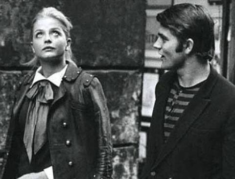 60년전 런던의 흔한 패션 수준