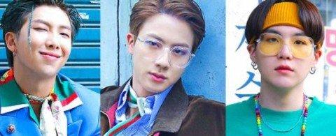 방탄소년단 시즌그리팅 멤버별 사진으로 찾아보는 80~90년대 레트로 패션