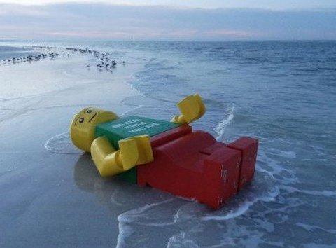 해변에 떠내려 온 물건의 정체 BSET 5