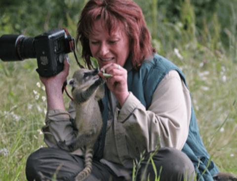 어느 동물 사진작가의 친화력(힐링사진)
