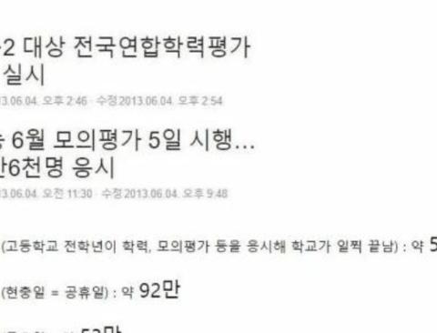 개봉시기가 탁월했던 한국 영화