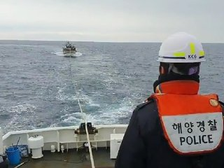 간절곶 해상서 기관고장으로 어선 표류...해경 긴급예인