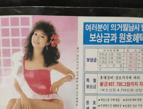 한국이 수십년전 북한에보낸 삐라
